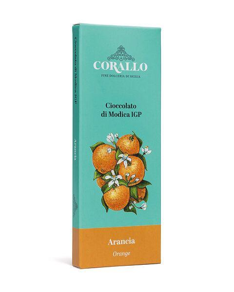Cioccolato di Modica IGP all'arancia