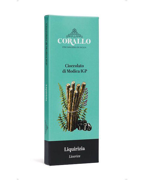 Cioccolato di Modica IGP alla liquirizia