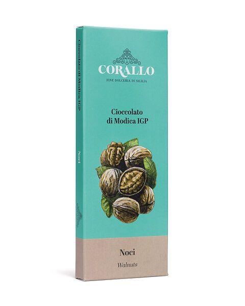 Cioccolato di Modica IGP alle noci