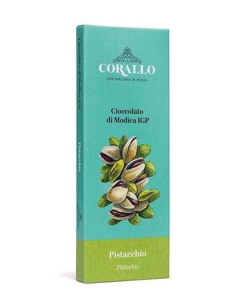 Cioccolato di Modica IGP al pistacchio