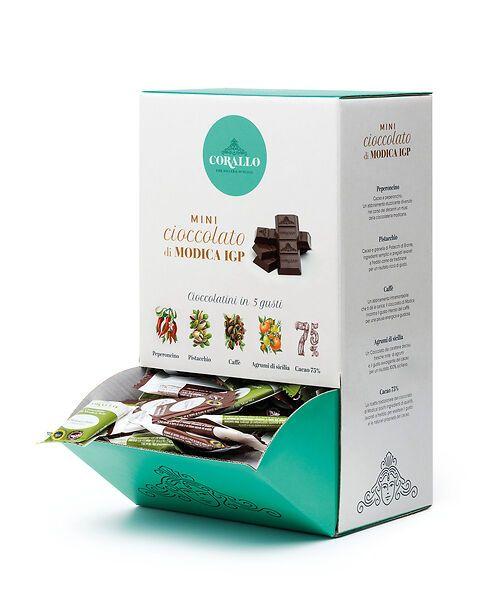 Espositore Mini Cioccolato di Modica IGP