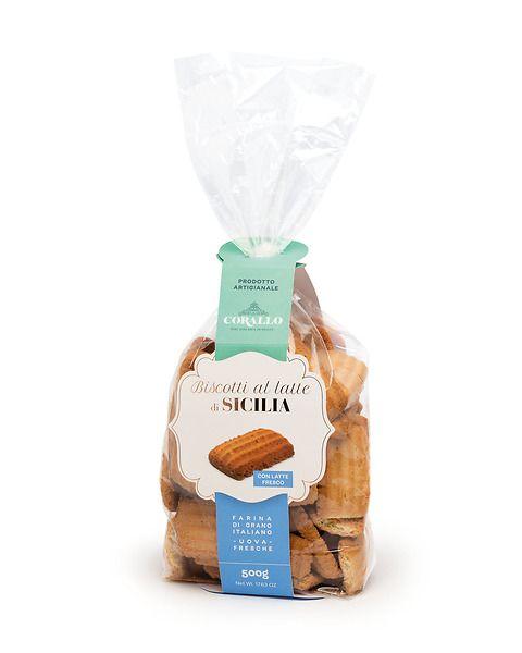 Biscotti al latte di Sicilia